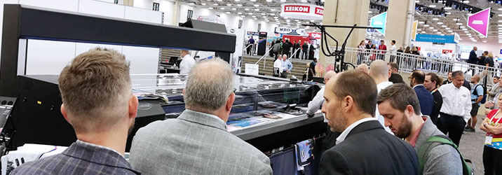 Summa L3214 at Printing United 2019
