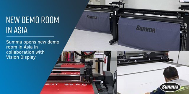 Summa opens new demo room in Asia in collaboration with Vision Display